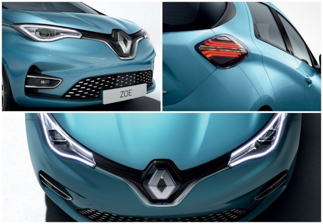 新世代Renault Zoe外观变化幅度不算太多,但换上全新家族化的车头设计,看起来又更加年轻有型了。(Renault)