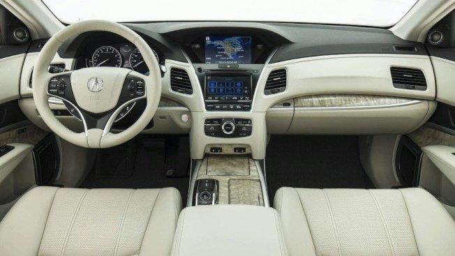 Acura RLX搭载了更高等级的用料、科技配备。(Acura提供)