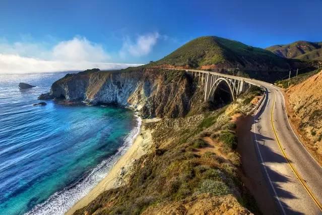 加州一号公路上的精彩景点